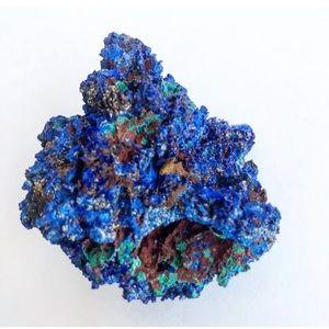 Moroccan Azurite Decorative Mineral